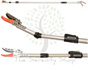 Darlac Garden Telescopic Angled Snapper / Tree Pruner