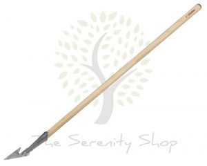Darlac Garden Vintage Weeding Spear Hoe with Bamboo Long handle