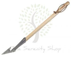Darlac Garden Vintage Weeding Spear Hoe with Bamboo Short handle