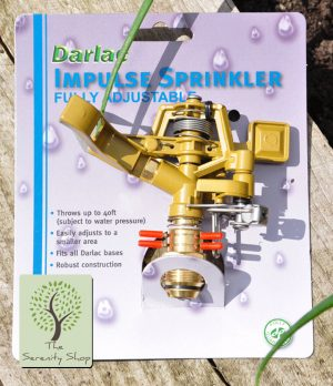 Darlac Hosepipe Impulse Sprinkler and Two Way Spike
