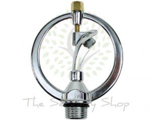 Darlac Hosepipe Spinner Sprinkler and Two Way Spike