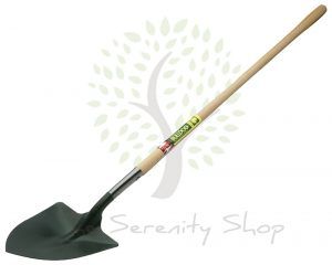 "Bulldog Premier Irish Shovel 54"" Ash Shaft Shaped"