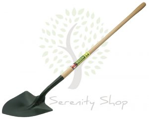 "Bulldog Premier Irish Shovel 54"" Ash Shaft Tapered"