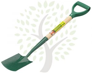 "Bulldog Premier Junior Digging Spade 25"" Ash Shaft 'PD' Grip"