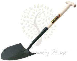 "Bulldog Premier Round Mouth Shovel No.2 28"" T Handle"