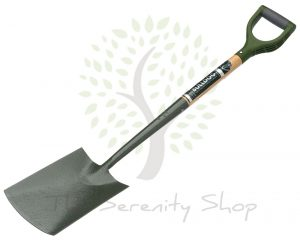 "Bulldog Evergreen Digging Spade Ergo Handle 28"" Shaft"