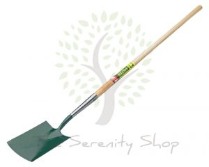 "Bulldog Premier Long Handled Digging Spade 48"" Shaft"