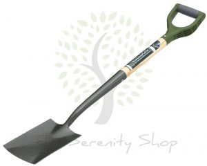 "Bulldog Evergreen Border Spade Ergo Handle 28"" Shaft"