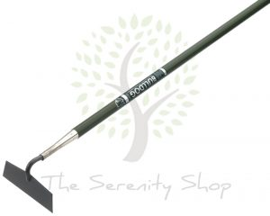Bulldog Evergreen Draw Hoe Tubular Steel Handle 54""