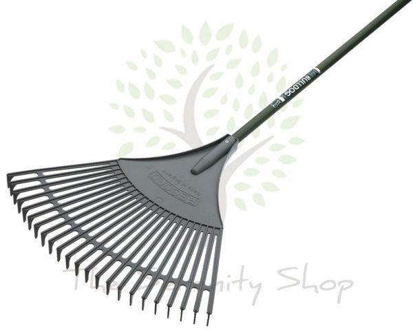 "Bulldog Evergreen Gardening Leaf Rake 54"" Shaft"