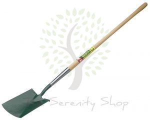 "Bulldog Evergreen Treaded Spade Long Plain 48"" Shaft"