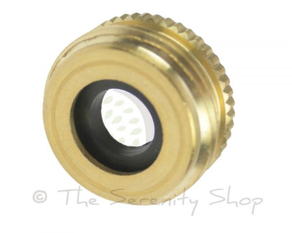 Darlac Solid Brass 1/2 inch to 3/4inch Tap Thread Adapter