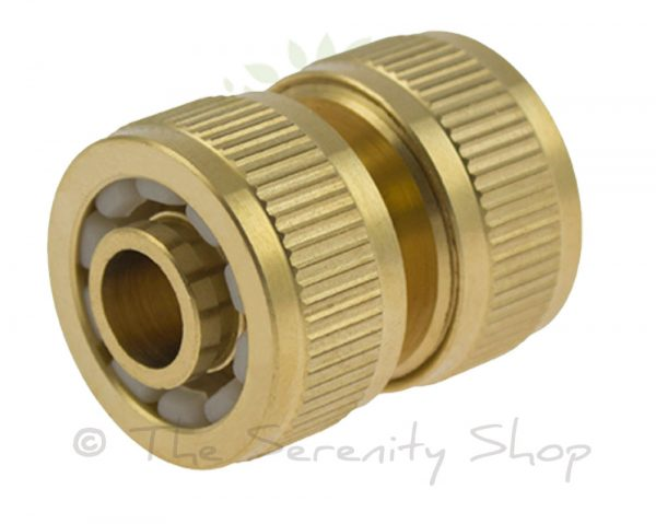 Darlac Garden Hose Solid Brass Hosepipe Mender